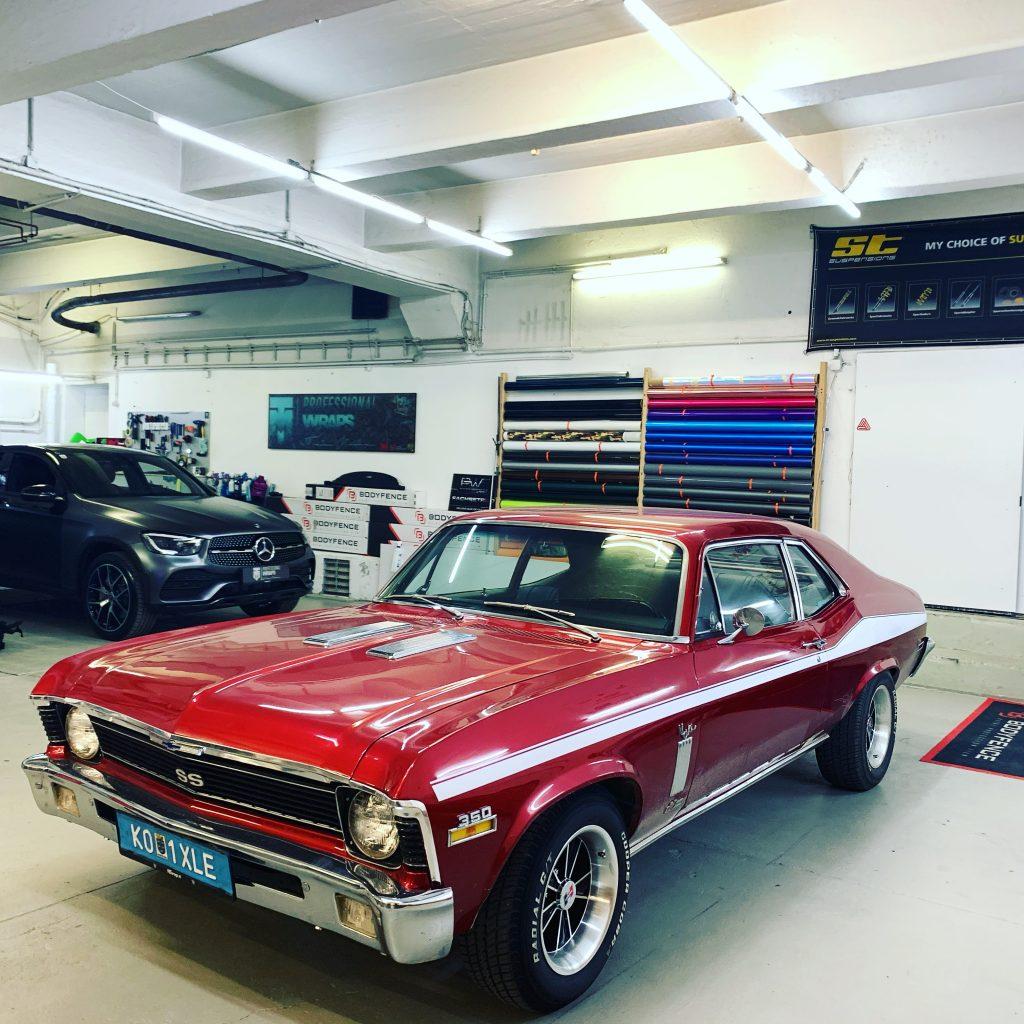 Chevy Nova ss 350