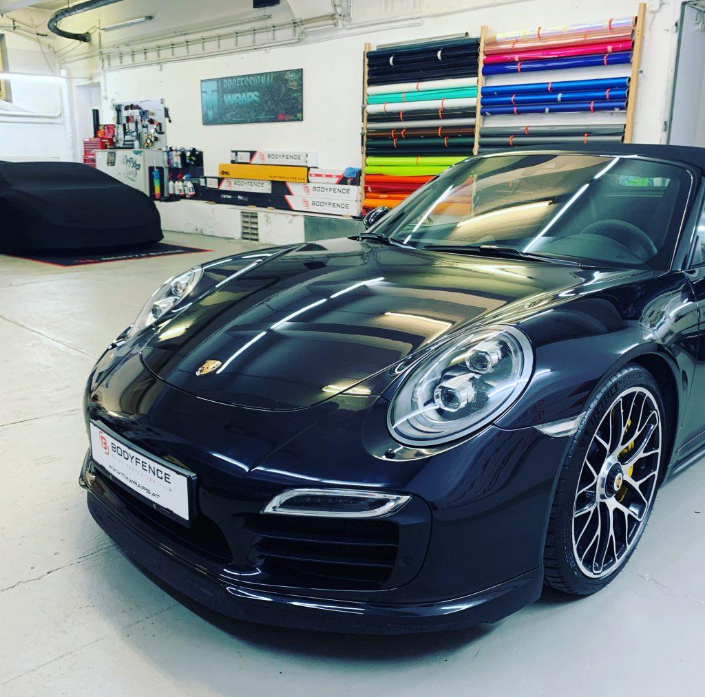 Porsche Lackschutz steinschlagschutzfolie